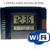 Camara Oculta En Reloj De Pared Ip Wifi