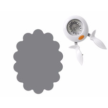 Scrapbook Perforadora Ovalo Onditas Escalopa 2 Papel Decora