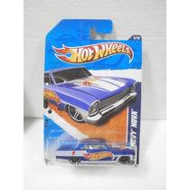 Hot Wheels 66 Chevy Nova Azul 154/244 2011 Tl