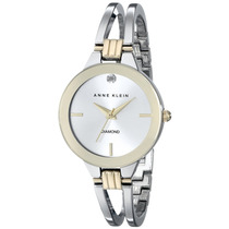 Anne Klein Ak/1943svtt Mujer Diamond-accented Dial Two-to