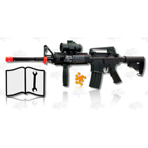 Marcadora Airsoft Rifle M83 A2 Electrica Bbs 6mm Xtreme