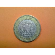 Monedas Conmemorativas $10 Nuevo Milenio Año 2000 Y 2001