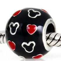 Charm P Pulsera Pandora Mickey & Hearts