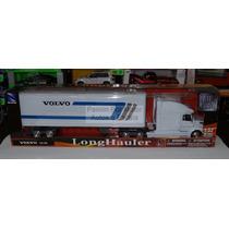 1:32 Volvo Vn 780 Con Caja Seca Contenedor De New Ray