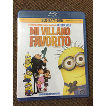 Mi Villano Favorito Bluray + Dvd + 3 Cortos De Los Minions