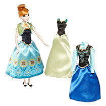 Anna De Frozen Con Guardarropa Disney Collector