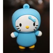 Usb 8gb Figura Hello Kitty Pijama Blue