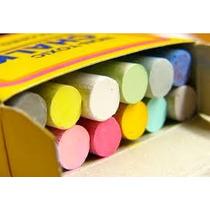 10 Cajas Con 12 Gises Para Pizarron Colores Papeleria Tizas