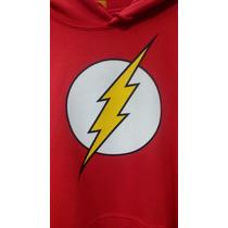 Sudadera De Flash Original Dc Comics