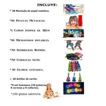 Paquete Fiesta Batucada,fin De Año,boda,xv Años.