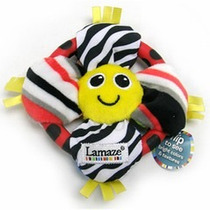Lamaze Estimulación Temp 27074-flower Ring Rattle -sonaja