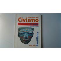Libro Lecciones De Civismo Tercer Grado Primaria
