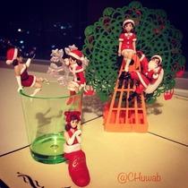 Figuras Fuchiko De Navidad, Gashapones