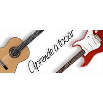 Aprende A Tocar Guitarra Acústica Eléctrica Tabs Acordes