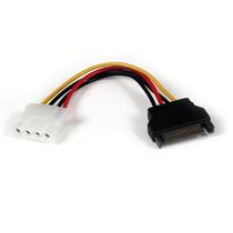 Cable De Alimentación De 15cm Adaptador Molex Lp4 A Sata - H