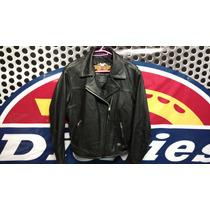 Chamarra Harley Davidson Piel, Rocker, Para Mujer, M