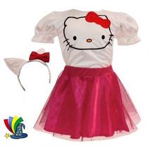 Disfraz Vestido Hello Kitty Niña Talla 5/6