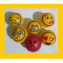 Emojis Whatsapp Pelota Hueca 1 Pulgada Maquina Chiclera