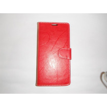 Protector Flip Cover Lg G Pro Lite D680 Color Rojo!!!