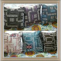 Cojines Decorativos Jaquard Y Loneta Española