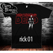 Playeras The Walking Dead Zombies Series Muertos Vivientes