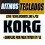 Samples Sonidos Y Ritmos Teclados Korg Paquete Profesional