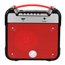 Bocina Bluetooth Inalámbrica Radio Fm Sd Recargable Portátil