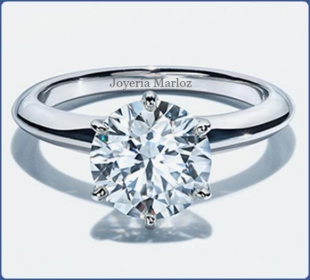 ef55ddf77174 Anillo Compromiso Diamante Natural De Mina .85ct 14kt  25000 cKfyc ...