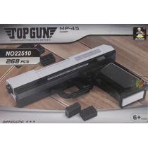 Replica Para Armar Pistola Mp45 Compatible Lego 268 Pzas