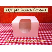 5 Cajas Para Cupcake Gigante (big Keko, Big Cupcake)