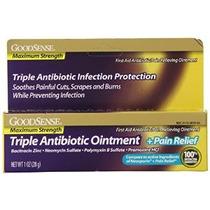 Goodsense Máxima Fuerza Triple Ungüento Antibiótico Más Aliv