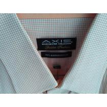Camisa Axis Manchester Talla16 1/2 (34) 100% Algodón Egipcio