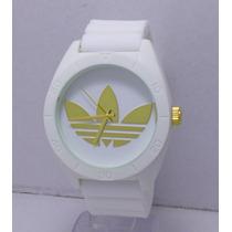 Reloj Hombre Adidas Barato Excelente Blanco Regalo