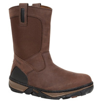 Rocky Hombres Forge 10 / Darkwood Pullon Wedge Boot Rk029