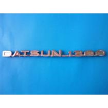 Emblema Datsun 1300 Camioneta Clasico