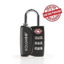 Tsa Lock - Combinación De 3 Dígitos - Mejor Bloqueo De Equip