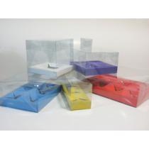 Cajas Transparentes Armables Mica, Pvc, Acetato