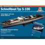 Schnellboot Typ S-100 Italeri Escala 1/35 Modelo Nuevo