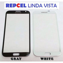 Touch Pantalla Cristal Para Galaxy Note 2 Mica