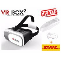 Lentes Vr Realidad Virtual Cardborad + Control Premium