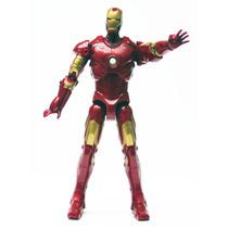 El Invincible Iron Man Con Luces Y Sonidos Marvel Hasb 2008