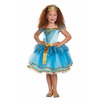 Disfraz De Merida Valiente Princesas Disney Para Niñas