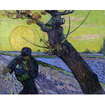 Lienzo Tela Sembrador 1888 Vincent Van Gogh 50 X 60cm
