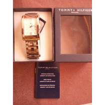 Reloj Tommy Hilfiger Th.142.1.25.1015.1016 Estuche Documento