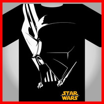2x1 Darth Vader Vectores Serigrafia, Separacion Playera