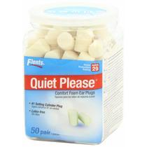 Tapones De Oidos De Lujo Americanos Quiet Please! Caja Cn 50