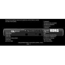 Samples Korg,pa300, Pa600, Pa900. $300 Pesos + De 60 Samples