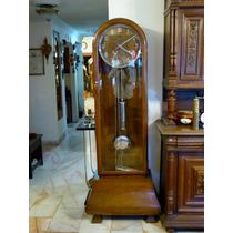 Reloj Grandfather Antiguo Marca Mauthe Alemán Art Deco