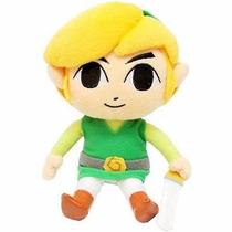 Legend Of Zelda Phantom Hourglass Link Plush Peluche 18cm