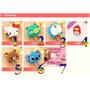 Plug Cargador Kitty, Stitch,doreamon, Angry Bird. 5 Piezas